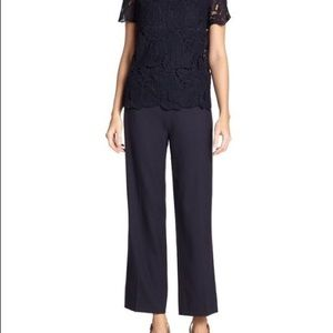 Tory Burch Avalon jumpsuit in navy size 2